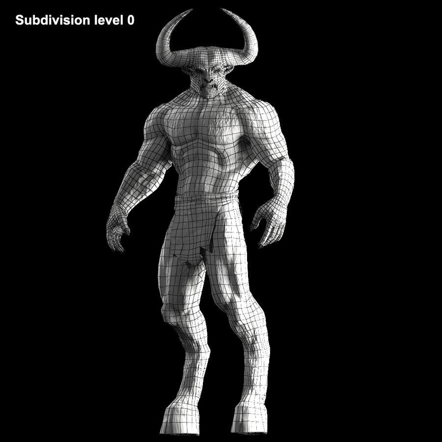 미노타 우르 장비 royalty-free 3d model - Preview no. 19