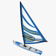 Windsurf Board 3d model