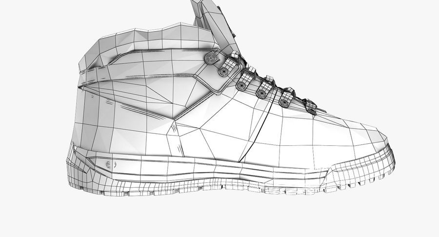 Botas de senderismo realistas de Timberland Modelo 3D $29