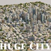 Huge City 3d model