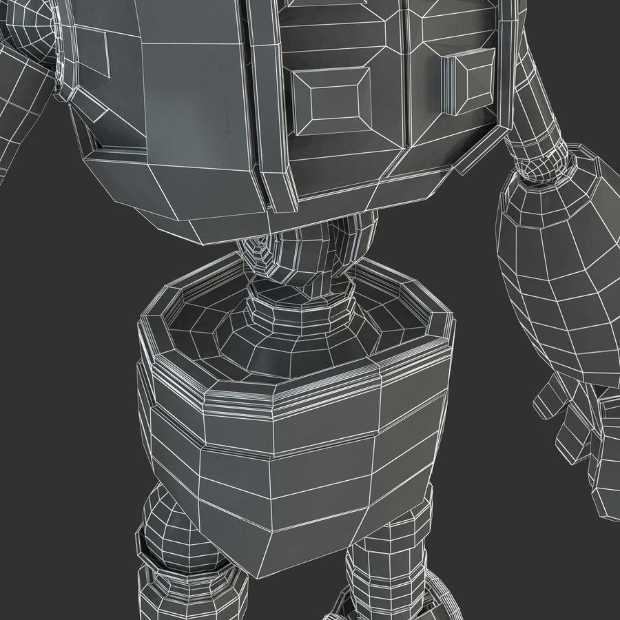 ロボットANDROID royalty-free 3d model - Preview no. 23