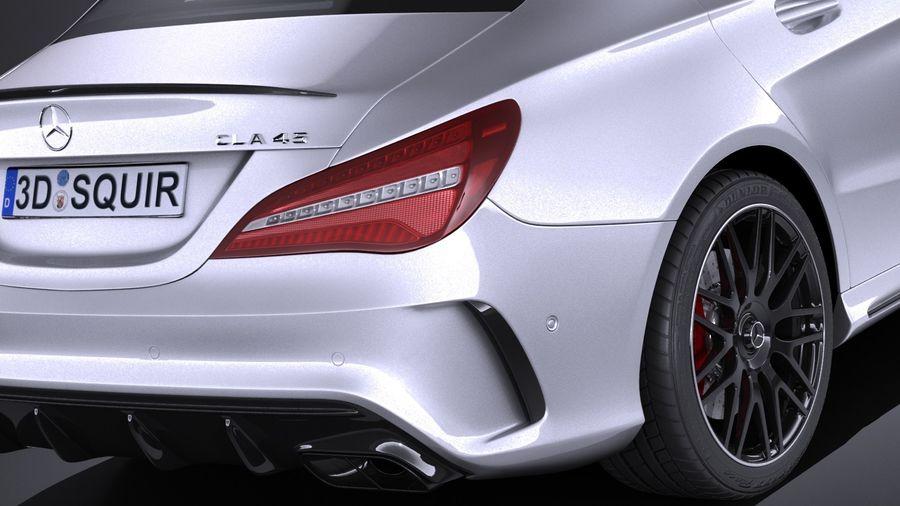 Mercedes-Benz CLA45 AMG 2017 3D Model $149 - .obj .max .lwo .fbx ...