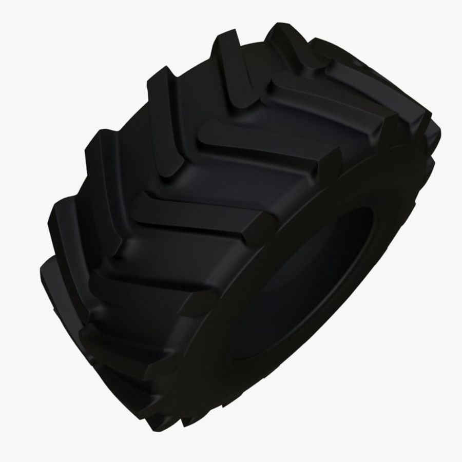 koło royalty-free 3d model - Preview no. 4