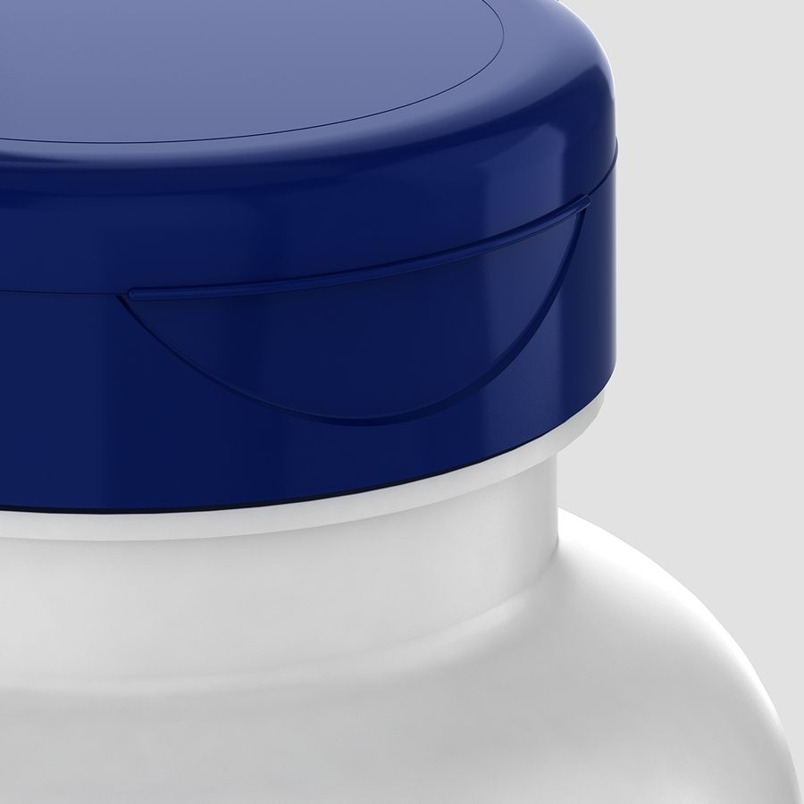 BOTTLE 300cc royalty-free 3d model - Preview no. 4
