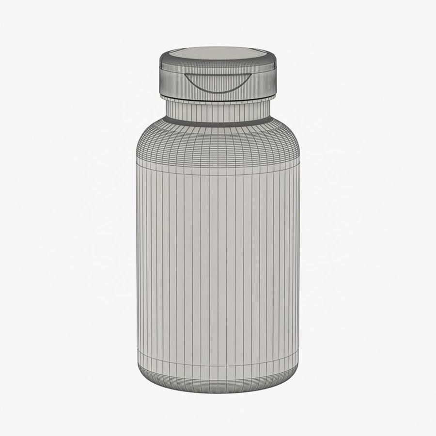 BOTTLE 300cc royalty-free 3d model - Preview no. 5