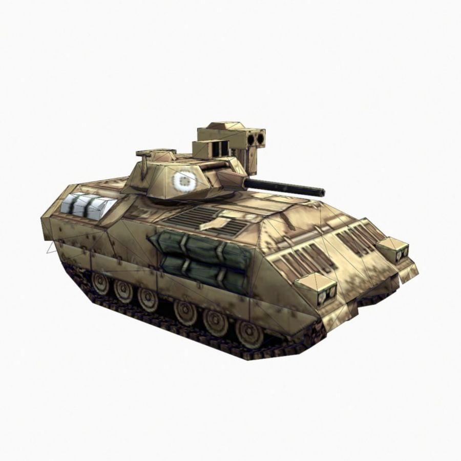 M2 Bradley royalty-free 3d model - Preview no. 12