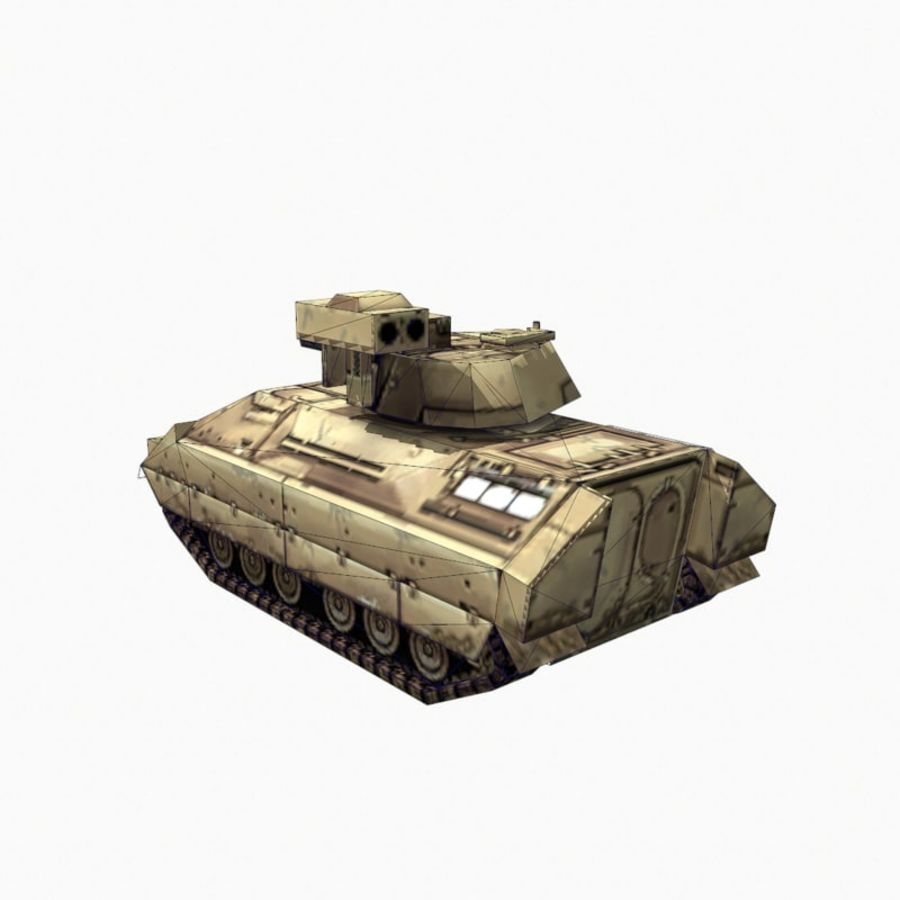 M2 Bradley royalty-free 3d model - Preview no. 10