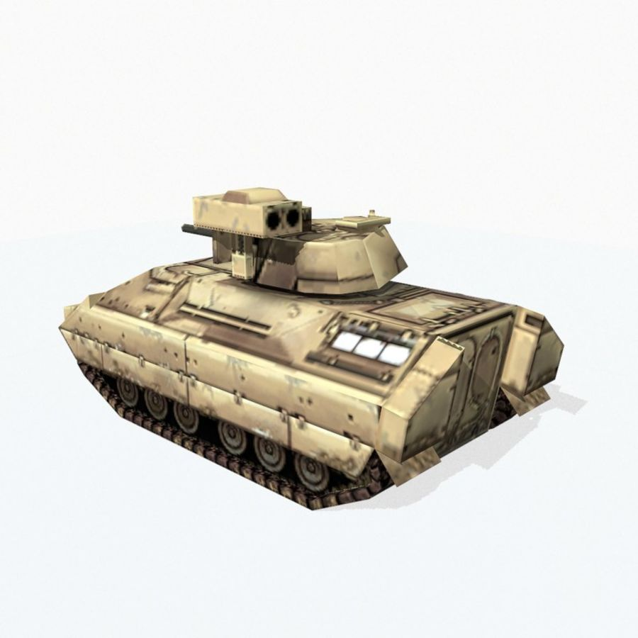 M2 Bradley royalty-free 3d model - Preview no. 4