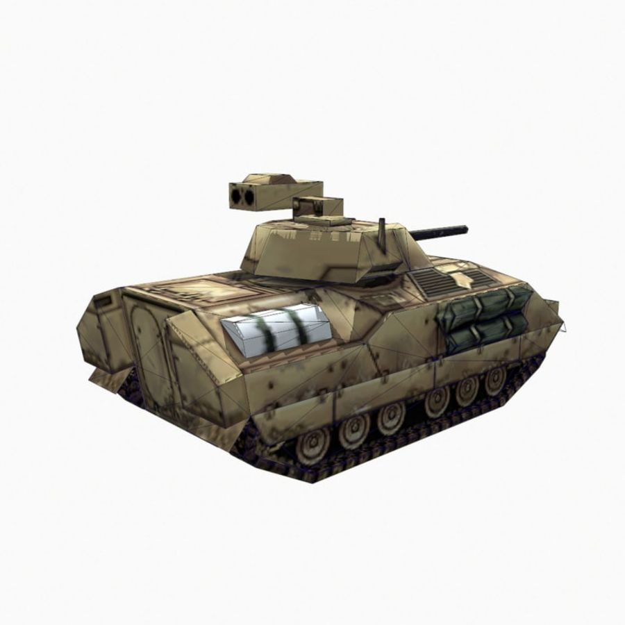 M2 Bradley royalty-free 3d model - Preview no. 11