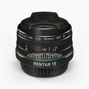 Pentax SMC DA 15mm f/4 ED AL Limited Lens 3d model