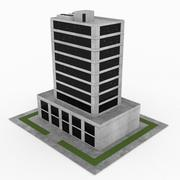 Office Build 13 3d model