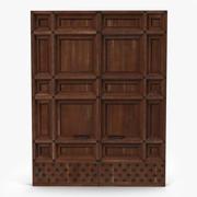 Door Greco Roman 3 3d model