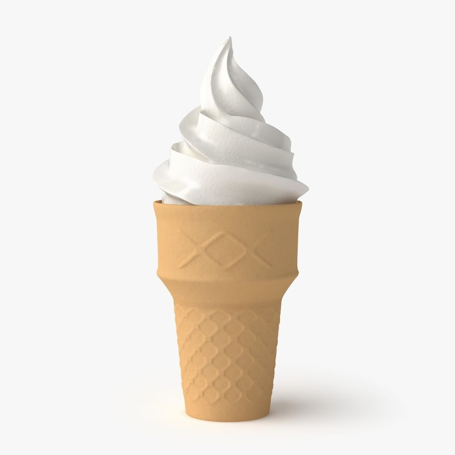 Ice Cream 2 royalty-free 3d model - Preview no. 1