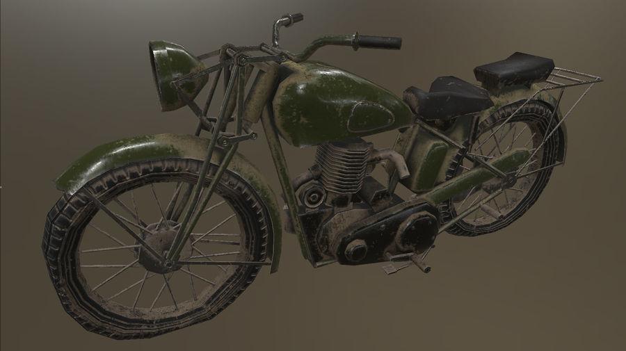Old Motorcycle 3D Model $18 -  obj  fbx  max - Free3D