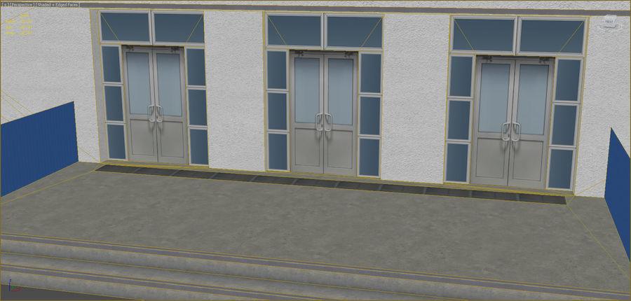 Conjunto de edificios industriales 2. royalty-free modelo 3d - Preview no. 6