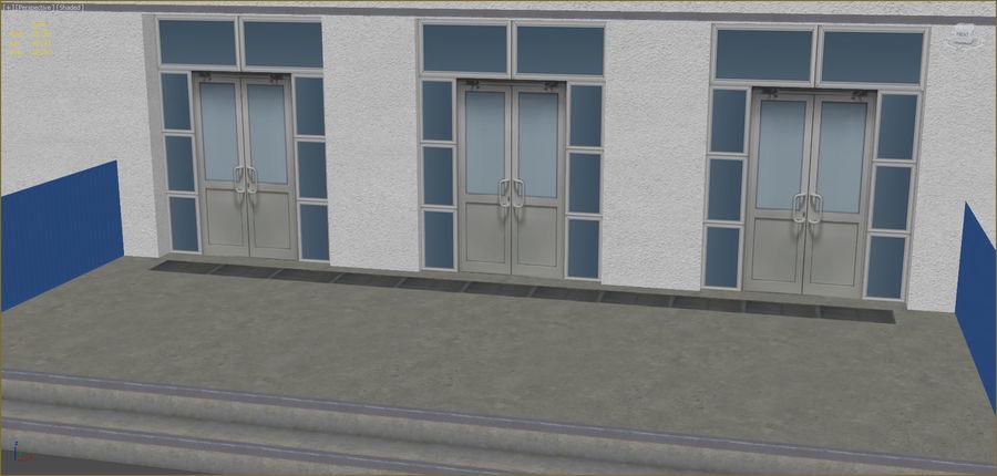 Conjunto de edificios industriales 2. royalty-free modelo 3d - Preview no. 5