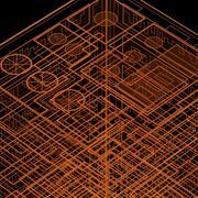 ホログラムハウス 3d model