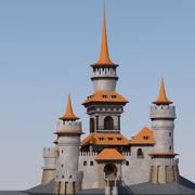 Dream Castle 3d model