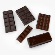 巧克力 3d model