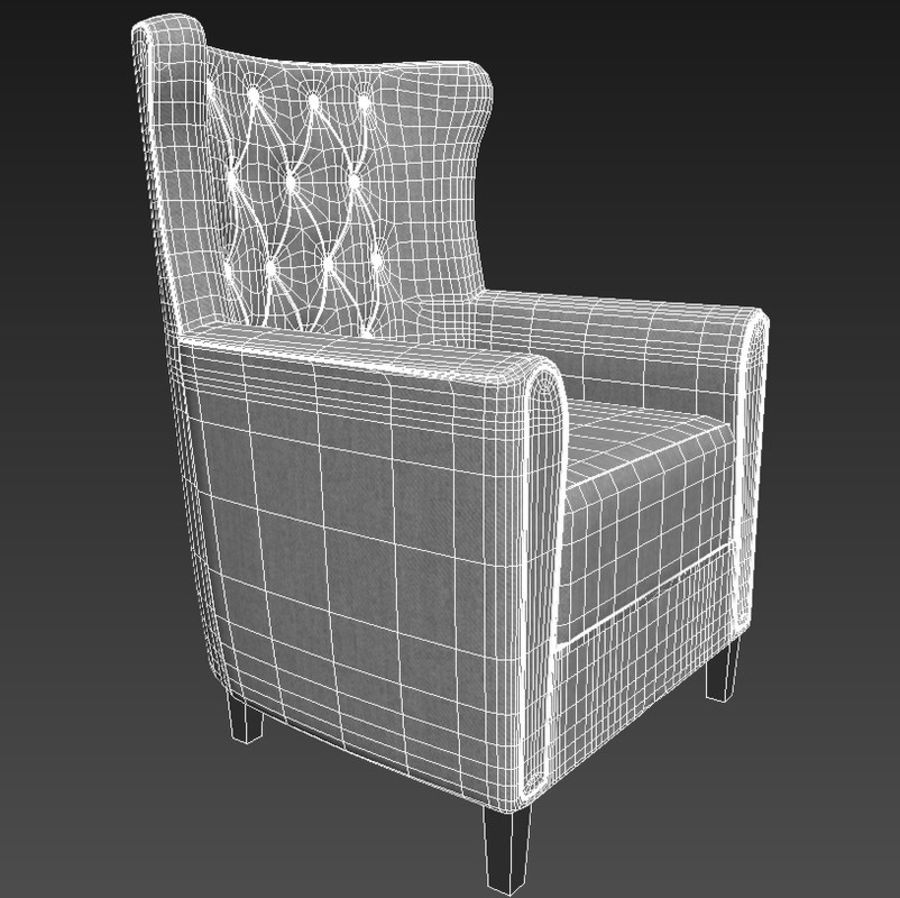 Fauteuil royalty-free 3d model - Preview no. 6