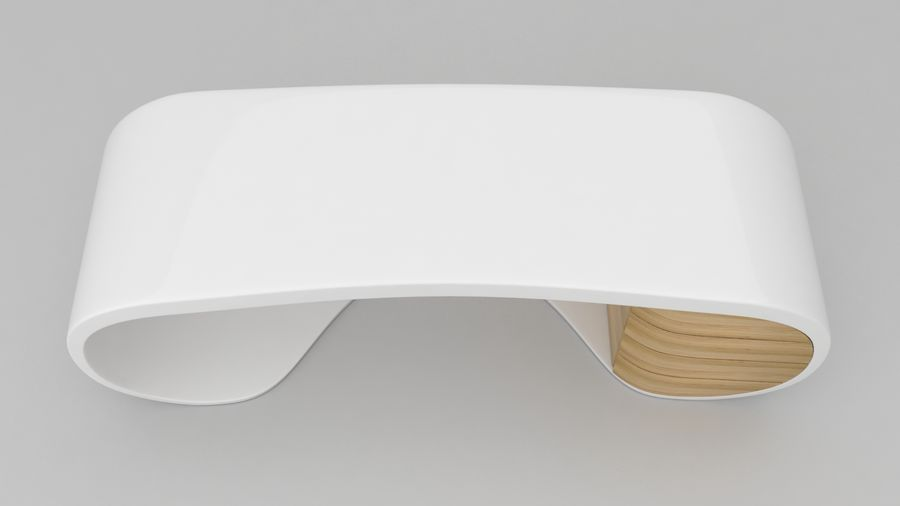 Goggle Office Desk royalty-free modelo 3d - Preview no. 9