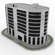 Office Build 19 3d model