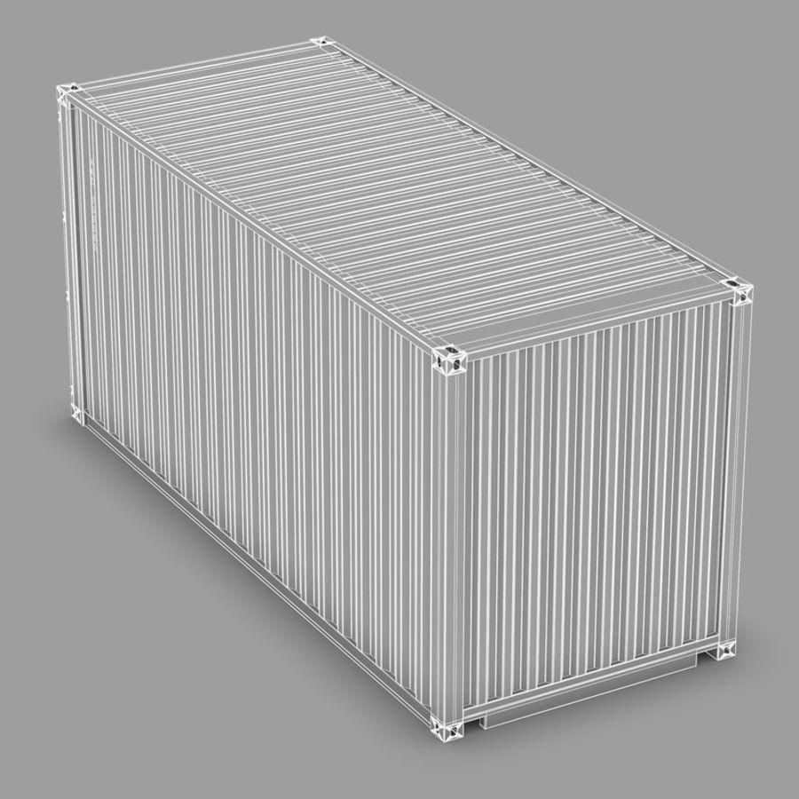 运输容器 royalty-free 3d model - Preview no. 13