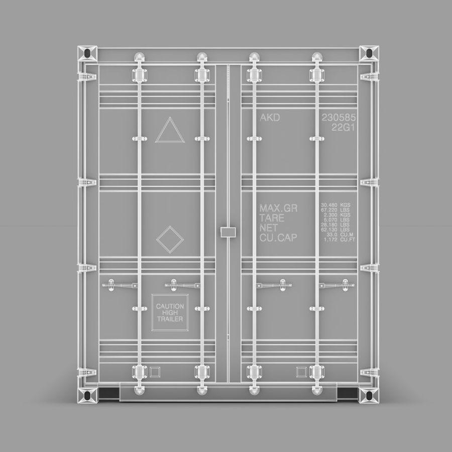 运输容器 royalty-free 3d model - Preview no. 9