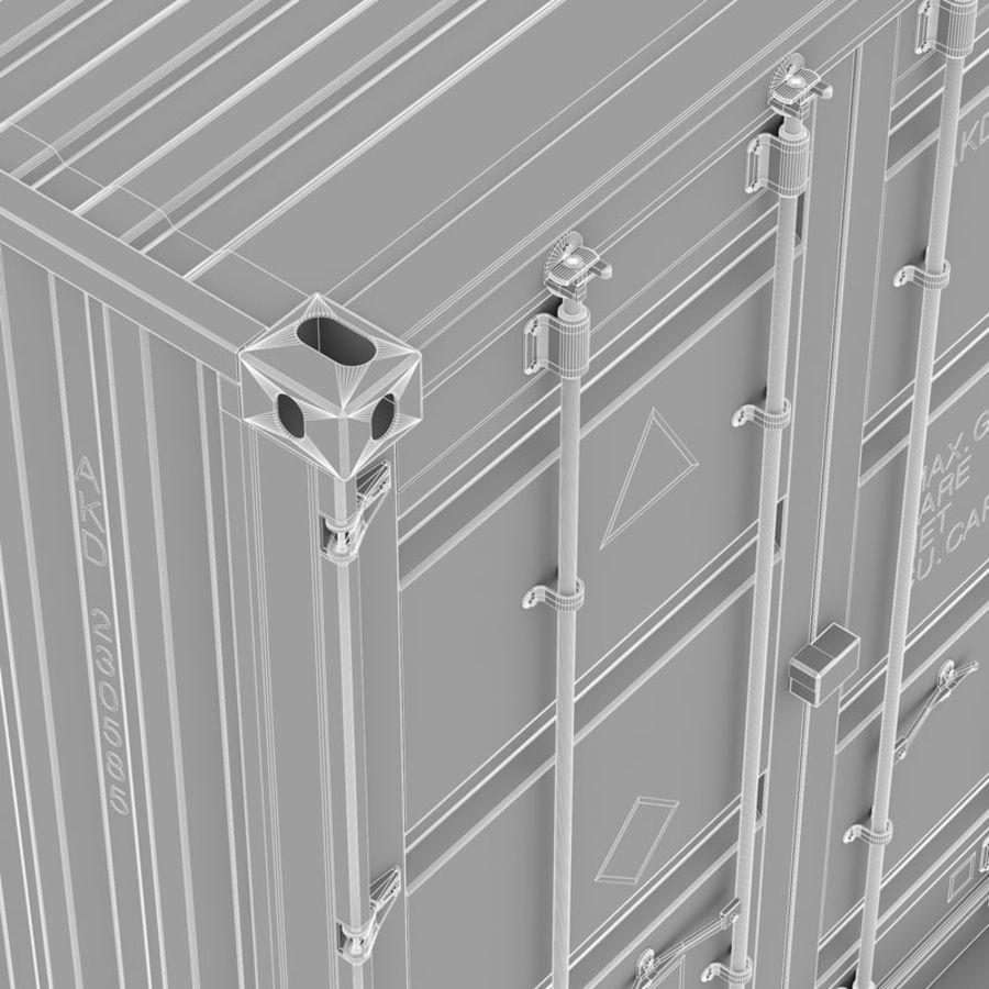 运输容器 royalty-free 3d model - Preview no. 12