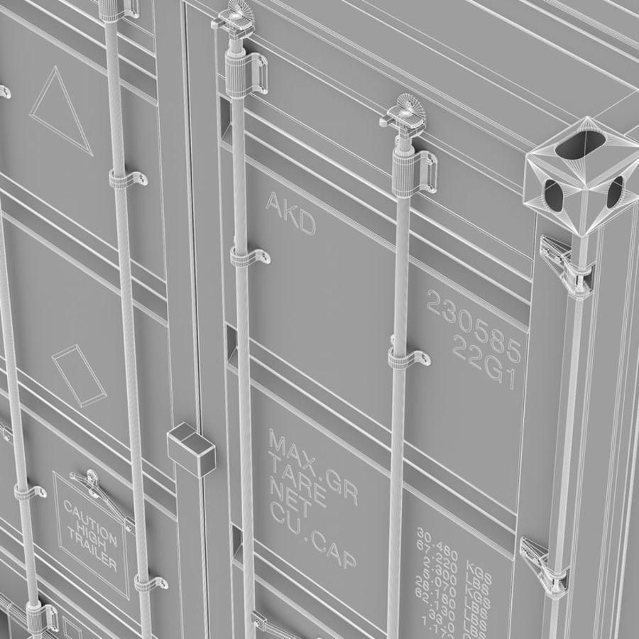 运输容器 royalty-free 3d model - Preview no. 11