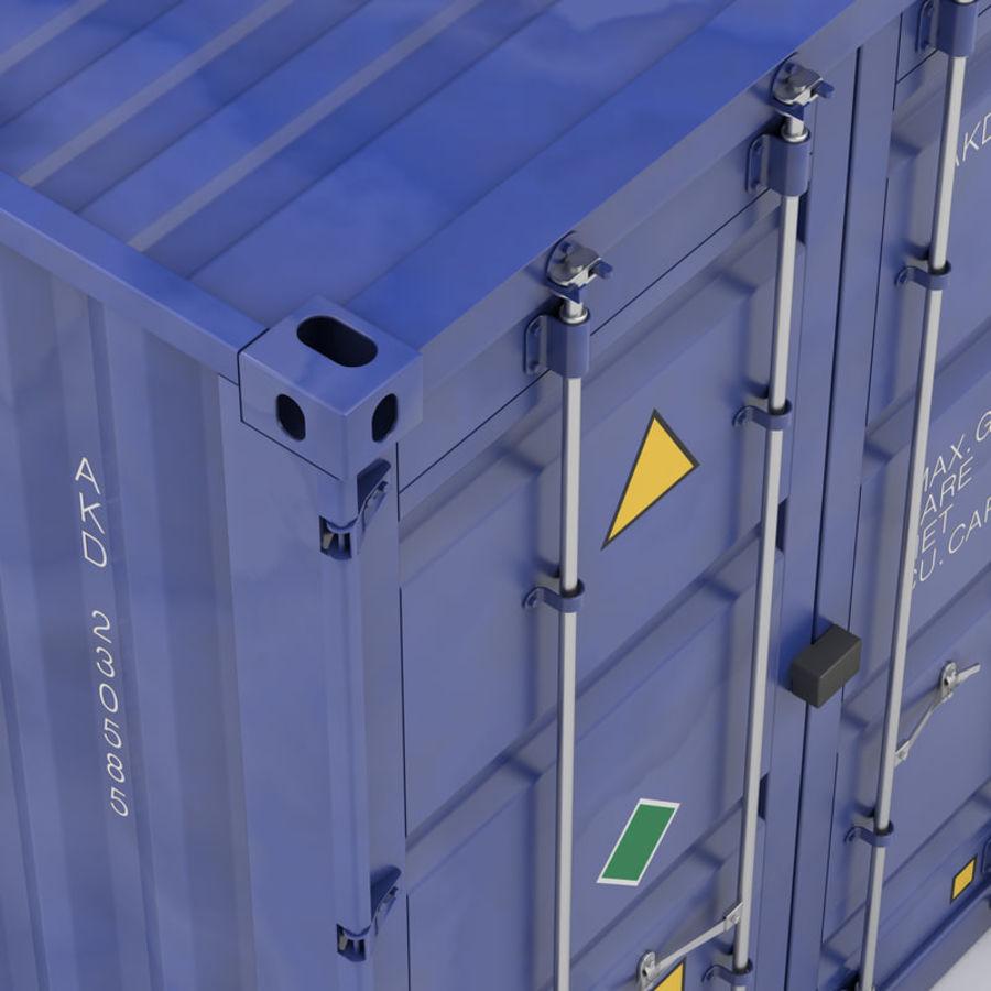 运输容器 royalty-free 3d model - Preview no. 6