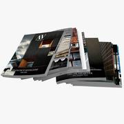 Magazines Open 04 3d model
