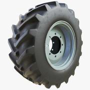 Tractor Wheel 01 3d model