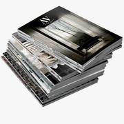 Magazines Open 03 3d model