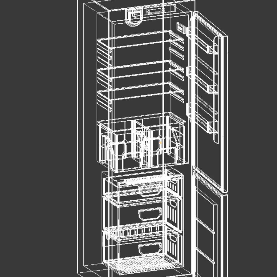 Refrigerador royalty-free modelo 3d - Preview no. 7