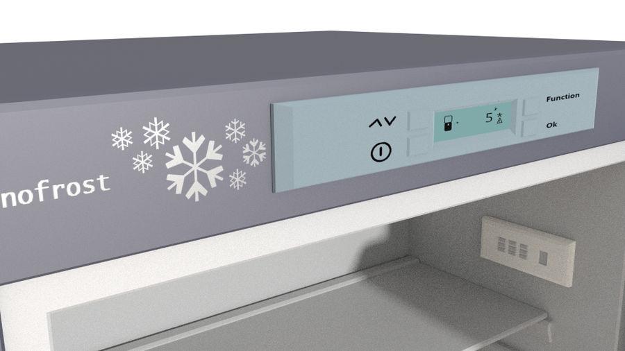 Refrigerador royalty-free modelo 3d - Preview no. 5