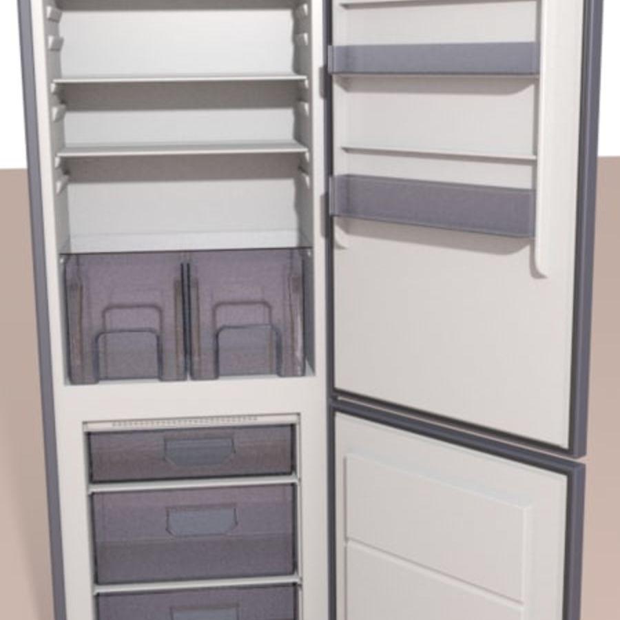 Refrigerador royalty-free modelo 3d - Preview no. 1