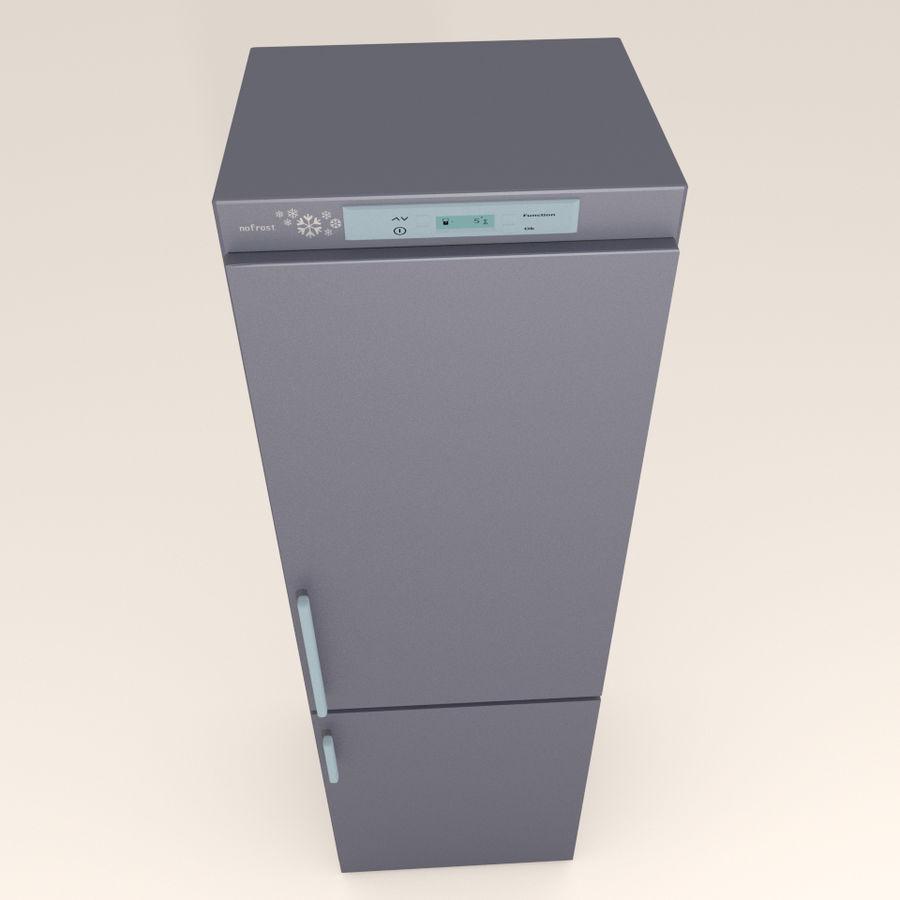 Refrigerador royalty-free modelo 3d - Preview no. 3