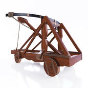 Ancient Catapult 3d model