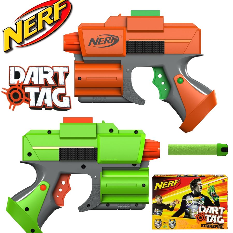 NERF Dart Tag Set royalty-free 3d model - Preview no. 1