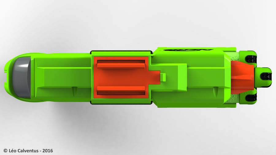NERF Dart Tag Set royalty-free 3d model - Preview no. 30