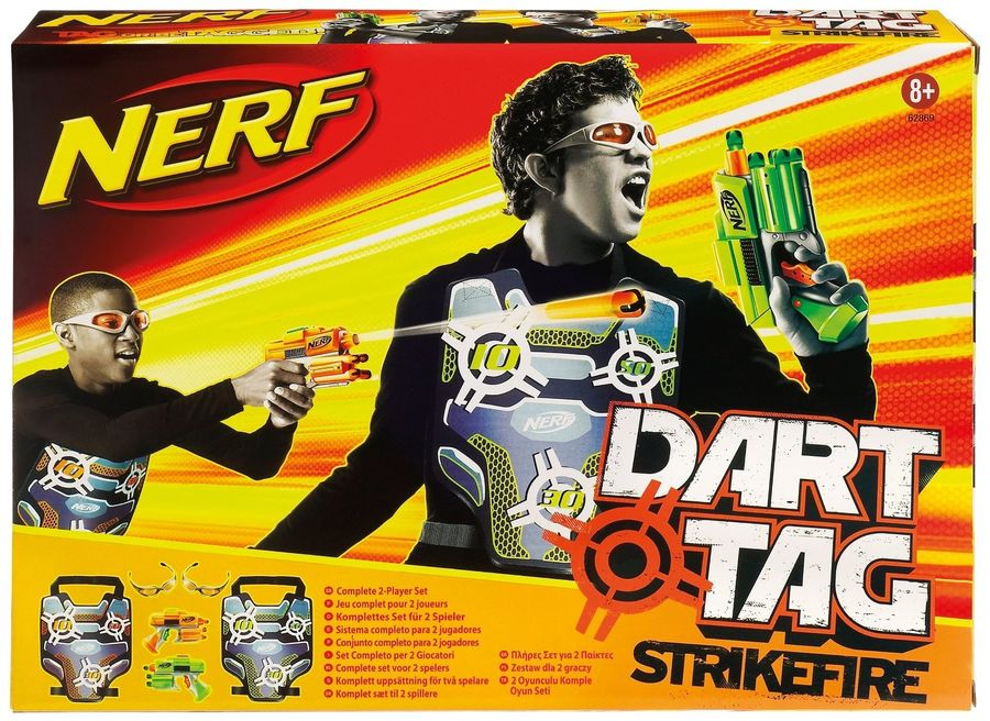 NERF Dart Tag Set royalty-free 3d model - Preview no. 43