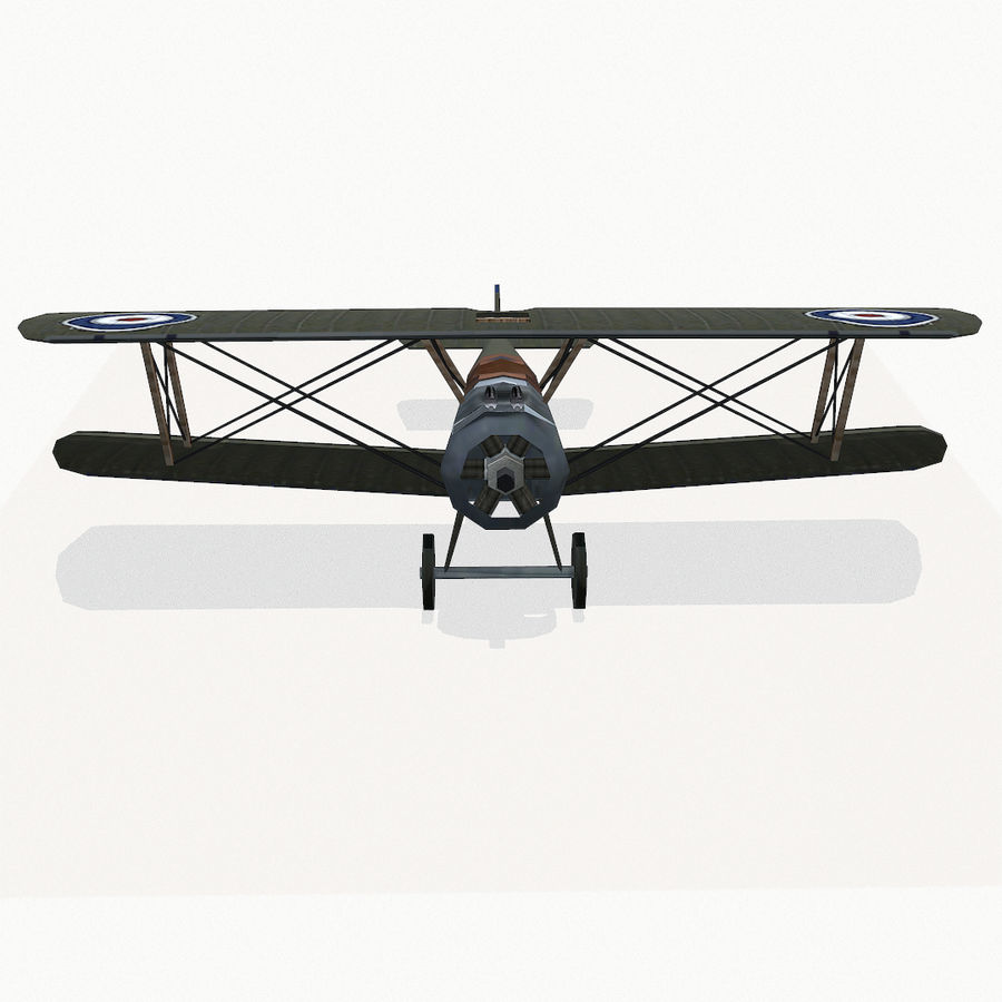 Sopwith Camel royalty-free 3d model - Preview no. 7