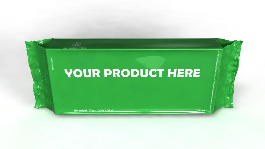 Naylon ürün paketi royalty-free 3d model - Preview no. 2
