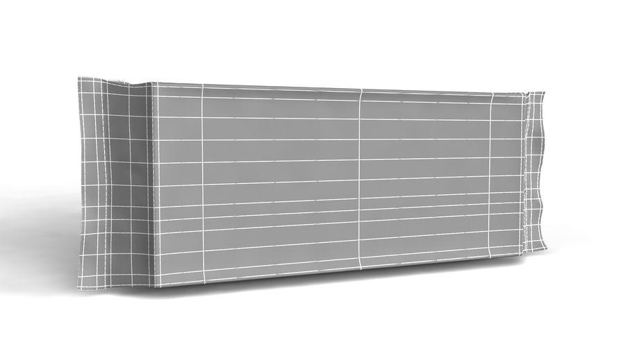 Naylon ürün paketi royalty-free 3d model - Preview no. 5