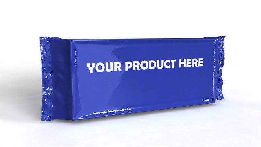Naylon ürün paketi royalty-free 3d model - Preview no. 1