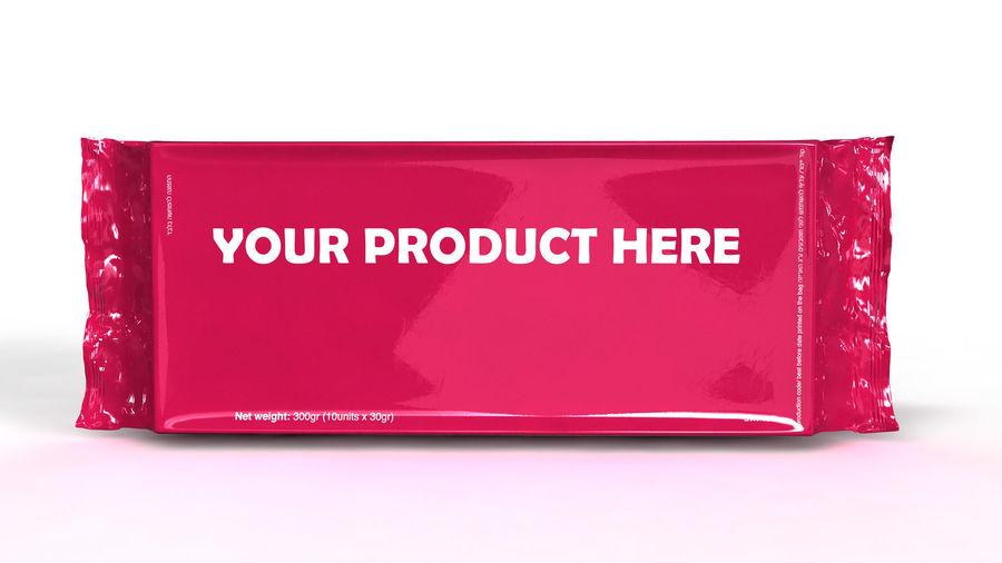 Naylon ürün paketi royalty-free 3d model - Preview no. 4