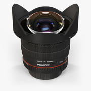 proOPTIC 8mm f/3.5 AS IF UMC Fish-eye CS II AE Nikon F Lens 3d model