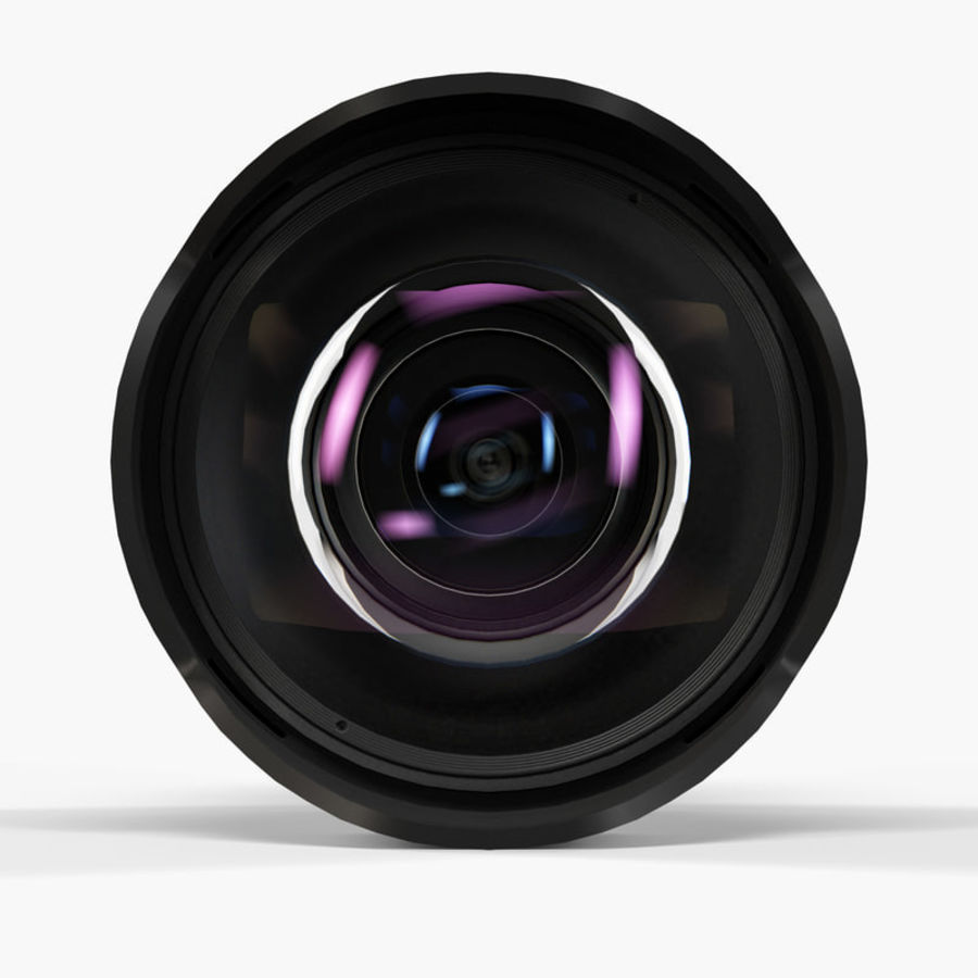 ProOPTIC 8mm f/3 5 AS IF UMC Fish-eye CS II AE Nikon F Lens 3D Model