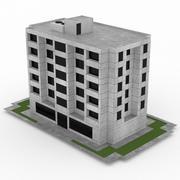 Oficina de construcción 40 modelo 3d